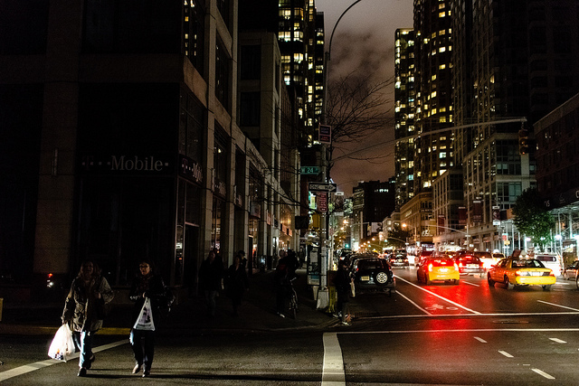 NYC Blackout during hurricane Sandy, CC-BY Dan Nguyen